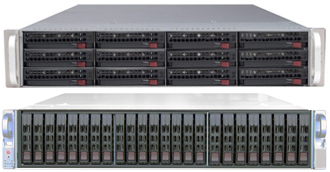 2U Rack Mount Servers - 2U Storage Servers - Single or Dual CPU