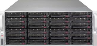 4U Rack Mount Servers - 4U Storage Servers - Single or Dual CPU