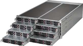 1U to 4U MultiNode Servers - Solutions from Twin Node to 24 Nodes