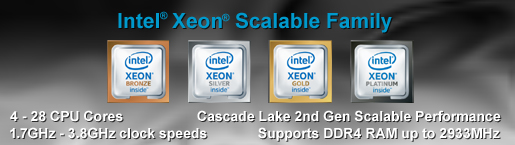 Intel Xeon Scalable Family Server CPU